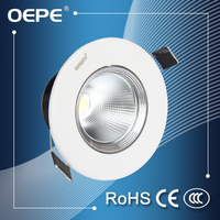 High power factor led spotlight lamp mini cob led spotlight adjustable beam angle led embedded spotlight