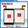 China tablet multi touch screen replacement for Mytab Mini 3g HK80DR2344 digitizer