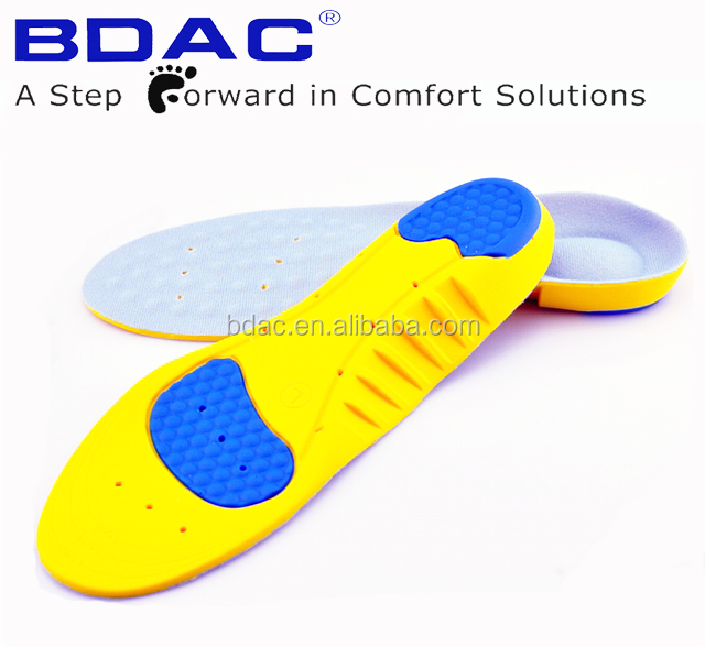 soft pu foam shock absorbing sweat proof insoles <strong>breathable</strong>