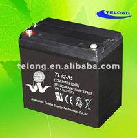 strong power performance maintenance free lead acid storage battery