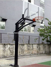 Home court Inground adjustable basketball hoops/stand