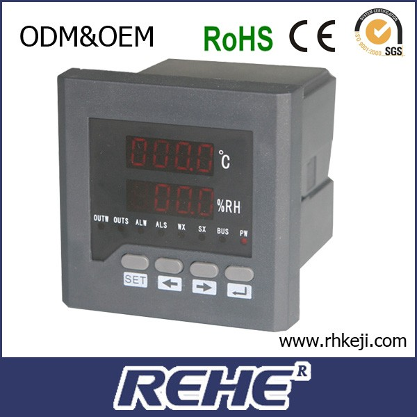 incubator digital temperature and humidity controller with RS485 can Wire break or process alarm