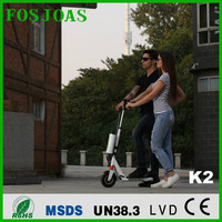 factory price:Airwheel Z3 8 inch folable two wheels electric bike with movebale battery FOSJOAS K2