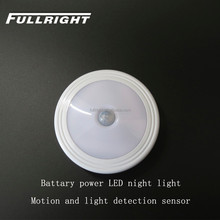 battery powered led motion sensor bedroom light With magnet can be stick on any where