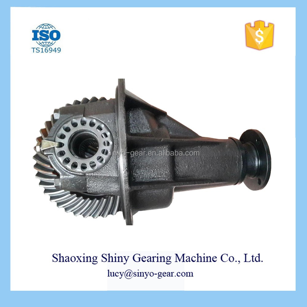 Shaoxing Shiny Gearing Parts Main Retarger Differential