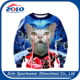 New design custom fashion 100% Polyester custom t shirt hoodie