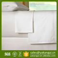 Pure White Customizable King Size Fitted Bed Sheet For Hotel