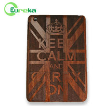 2014 New arrival customized wood protective case for IPad mini