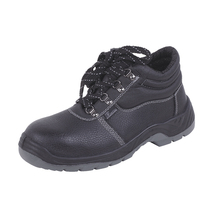 UC-302 Cheap and good quality industrial working protective leather steel toe cap safety shoes