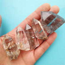 Wholesale Price Natural Raw Crystas Stone Rutilated Quartz Crystal Points For Healing