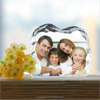 Europe Crystal Glass Picture Frame European Photo Frames Home Decor Item Wedding Gifts Photo Studio Gifts