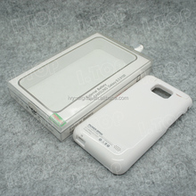 Rechargeable External Battery Case for Samsung Galaxy S2 i9100 2800mAh