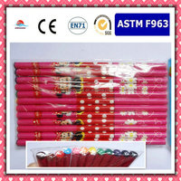 Promotion Gift cartoon multi-color rainbow wooden pencil