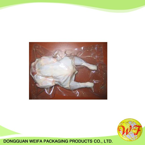 Clear Plastic Sugar / Food / Seafood Vacuum Packaging Bag