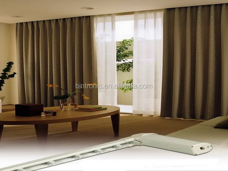 Bintronic window curtains design motorized custom drapes