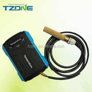 GSM wireless temperature and humidity transmitter sms temperature alarm data logger
