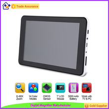 Factory Wholesales 7 inch LCD Reading Electronic Magnifier for Visually Impaired