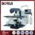 XK6140 3 Axis Metal Horizontal Knee Type Milling Machine CNC