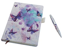 2017 PU cover pen notebook innovative gift item, fancy gift set