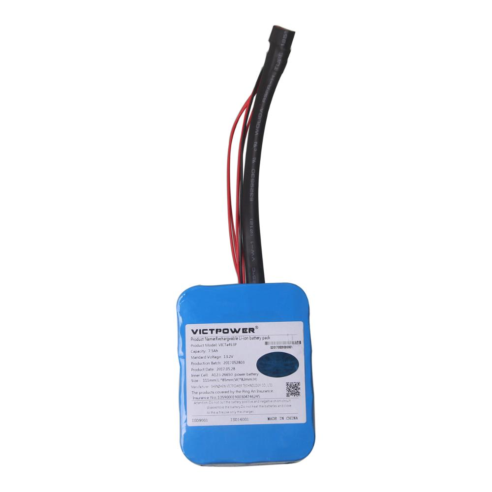 Victpower 13.2v 7500mah 4s3p lifepo4 battery pack for electric motorcycle