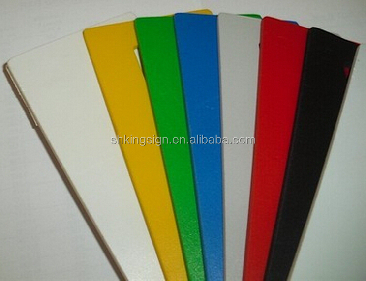 3mm 0.5 density PVC free foam sheet plastic board