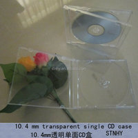 ps cd case single clear