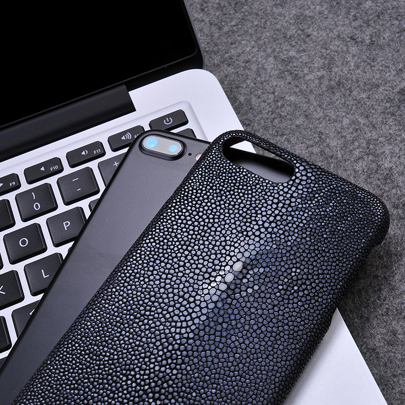 Luxury Stingray Leather Cover Mobile phone case For iPhone/Samsung/Huawei Leather case