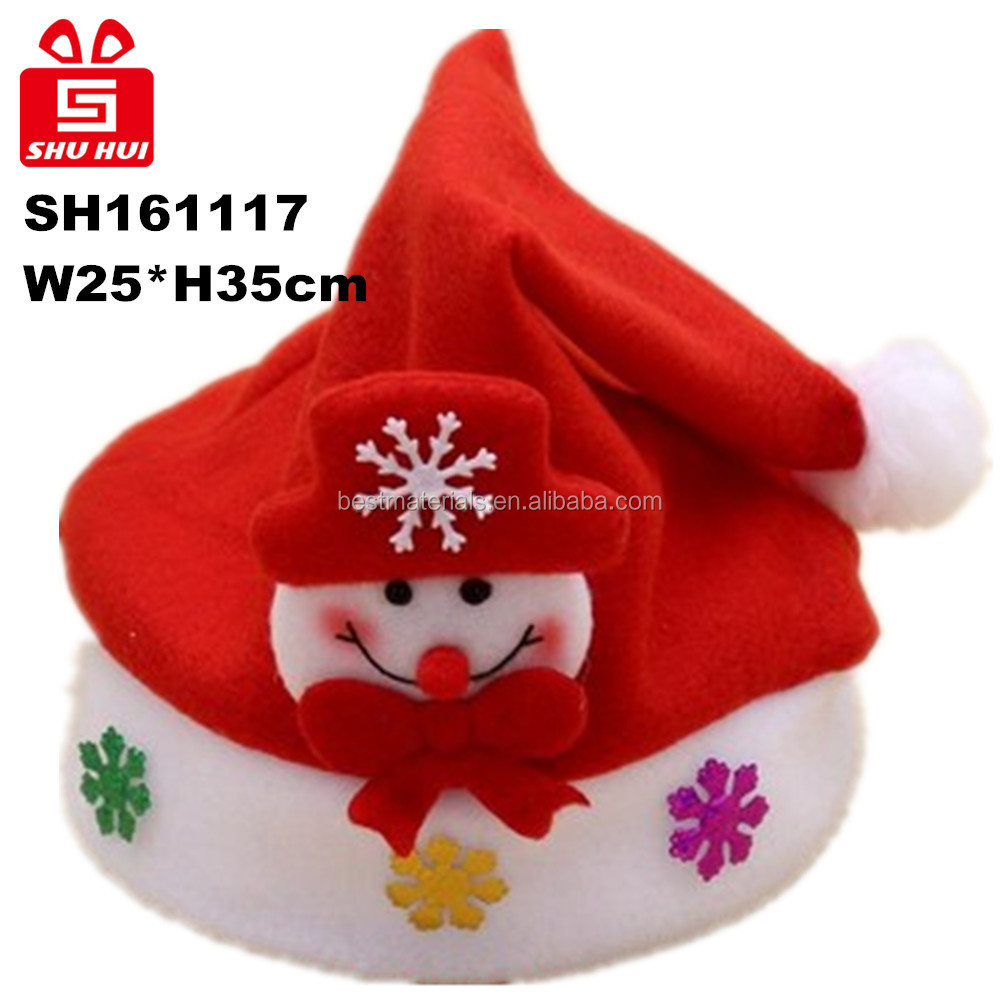 Wholesale hat, gloves and snow christmas tree decorations made in china