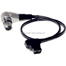 Angled Dtap Powertap To Female 4pin Xlr Cable 45cm