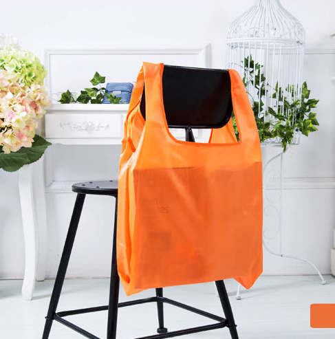 Customized Foldable supermarket Polyester Grocery Shopping Bag