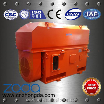 air cooler wound rotor induction motor