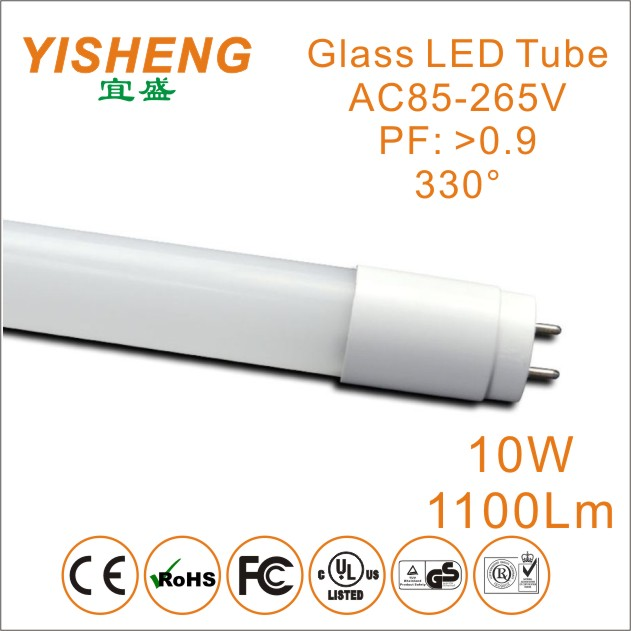 LED Tube T8 Light Bulbs Warm White/Cool White Glass T8 LED Tube Light 600mm SMD2835 Chips 110V-240V/AC