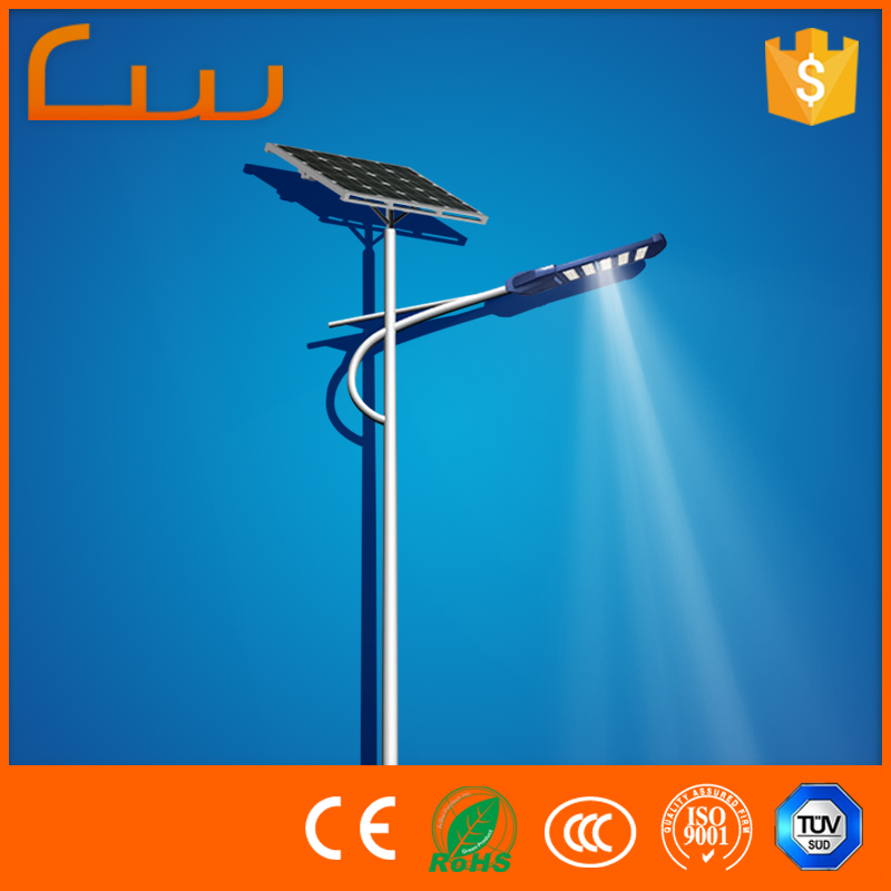 Residential portable a complete set system solar street lighting