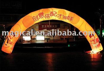 Durable Inflatable Arch with LED lighting