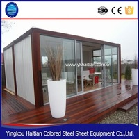 Mini Modern Prefab Small Steel Frame House For Sale