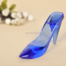 Best Selling Wedding Gifts Colorful Crystal Shoes Souvenir on Sale