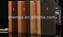 Alibaba Express Wood Wallet Leather Case For Samsung Galaxy Note 3