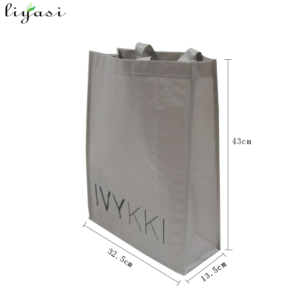 Cheap Recycle Promotional PP Laminated Woven Shopping Bags