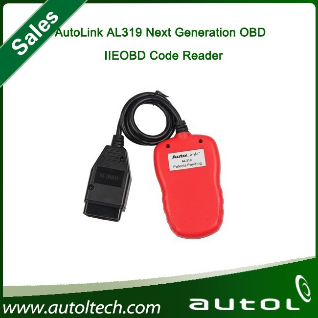 Autel AutoLink AL319 On-Board Diagnostics OBDII OBD2 / CAN Code Reader Auto Fault Code Scanner Diagnostic tools Car OBD2 scanner