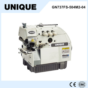 Cylinder bed overlock sewing machine