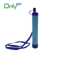 Personal Water Filter for Hiking, Camping, Travel, and Emergency Preparedness