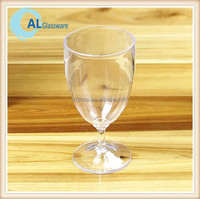 wholesale plastic shatterproof wine glass, plastic drinking glasses