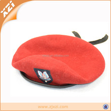 unisex USA air force red beret military beret