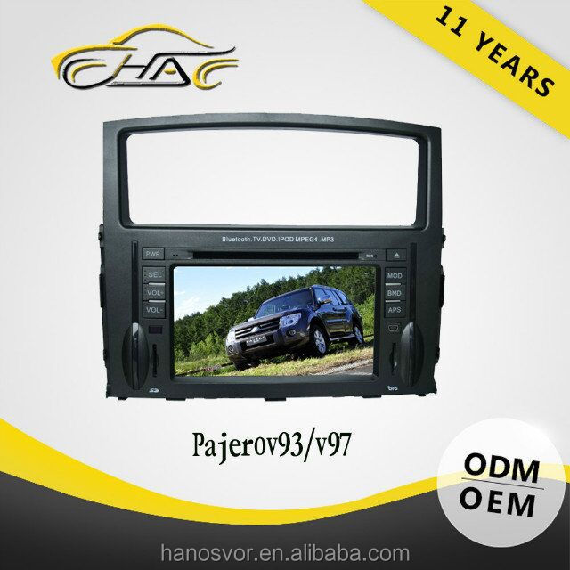 car dvd player gps software for pajero with free maps navigation
