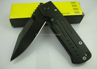 mini size one dollar give-away EDC famous brand steel handle folding pocket knife