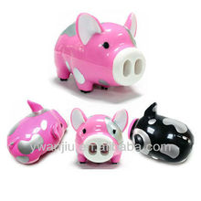 Supply Creative cute spotted pig vacuum cleaner