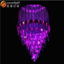 Fiber optic light fiber optic chandelier led fiber optic fabric OM099W