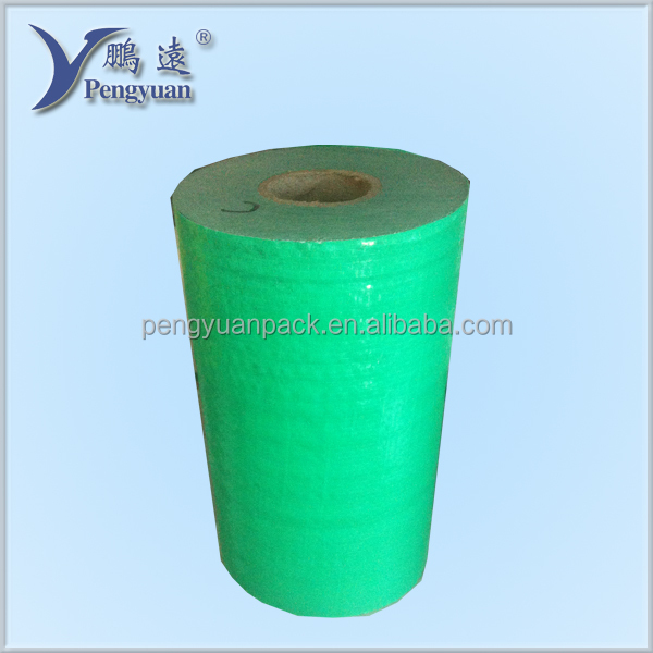 PE woven fabric colorful tarpulin