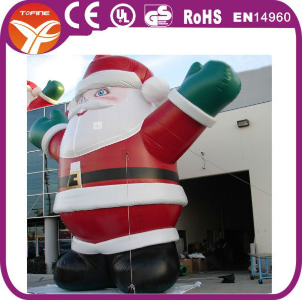 20ft christmas inflatable santa,inflatable christmas santa claus,giant inflatable santa claus