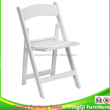 Wholesale White Folding Resin Chair for Wedding Used for sale